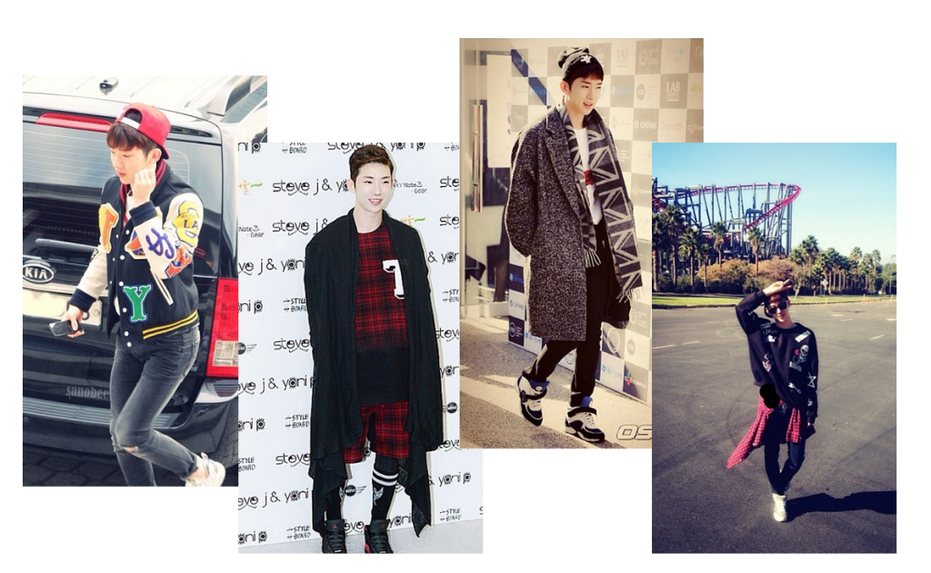 jo kwon trendy collage