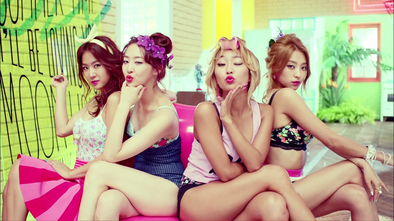 Sistar Touch My Body mv