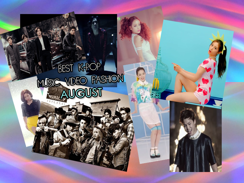 best kpop fashion august