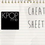 K-Pop Release Cheat Sheet 08/31/14-09/06/14