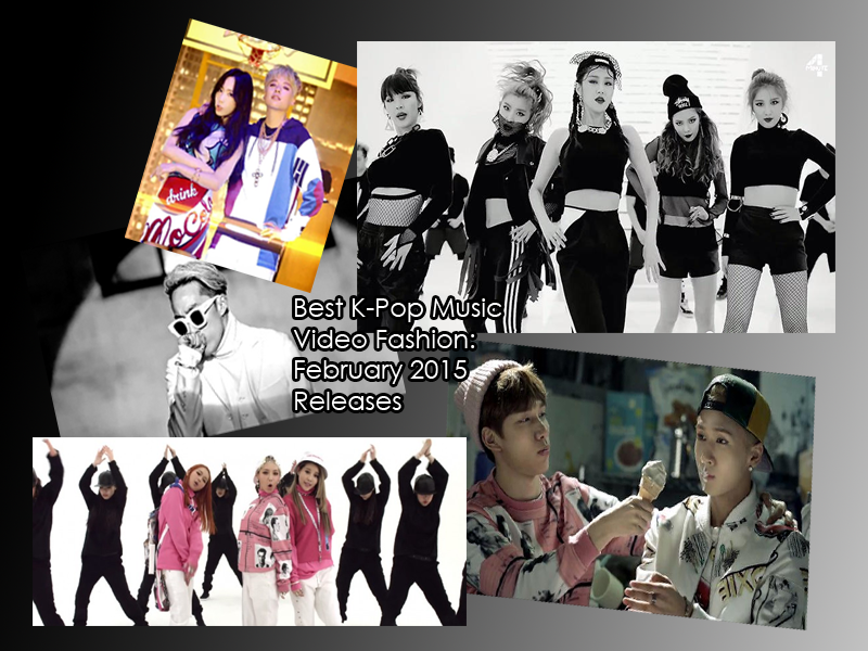 kpop best fashion february 2015