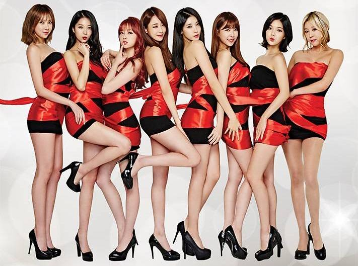 9muses nine muses seven year curse kpop girl groups