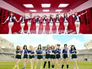 Girls' Generation and Twice
