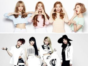 2NE1 and Mamamoo