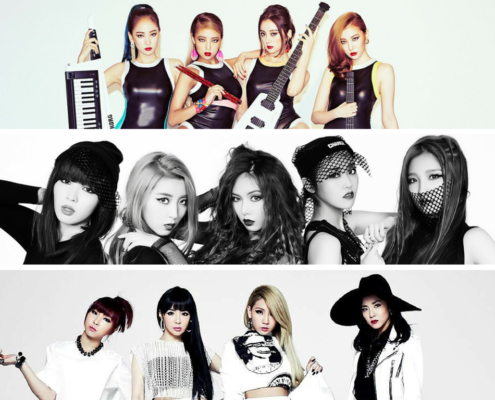 kpop girl groups 4minite disbanding break up 2ne1