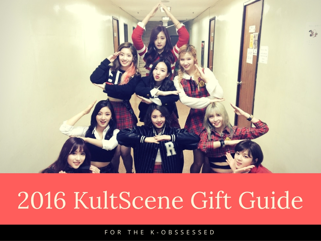 KultScene 2016 Holiday gift guide feat TWICE!