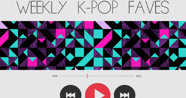 weekly kpop faves_january 2017 songs playlist