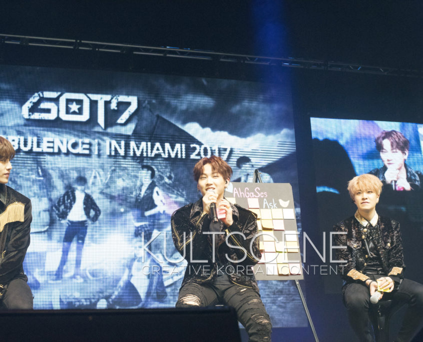 GOT7 #TurbulenceinMIA Mark Tuan Im Jaebum Choi Youngjae