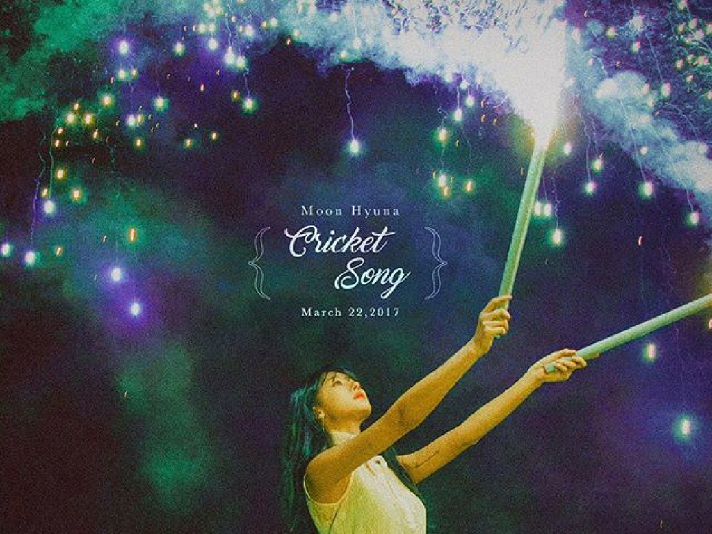 moon hyuna cricket song review meaning