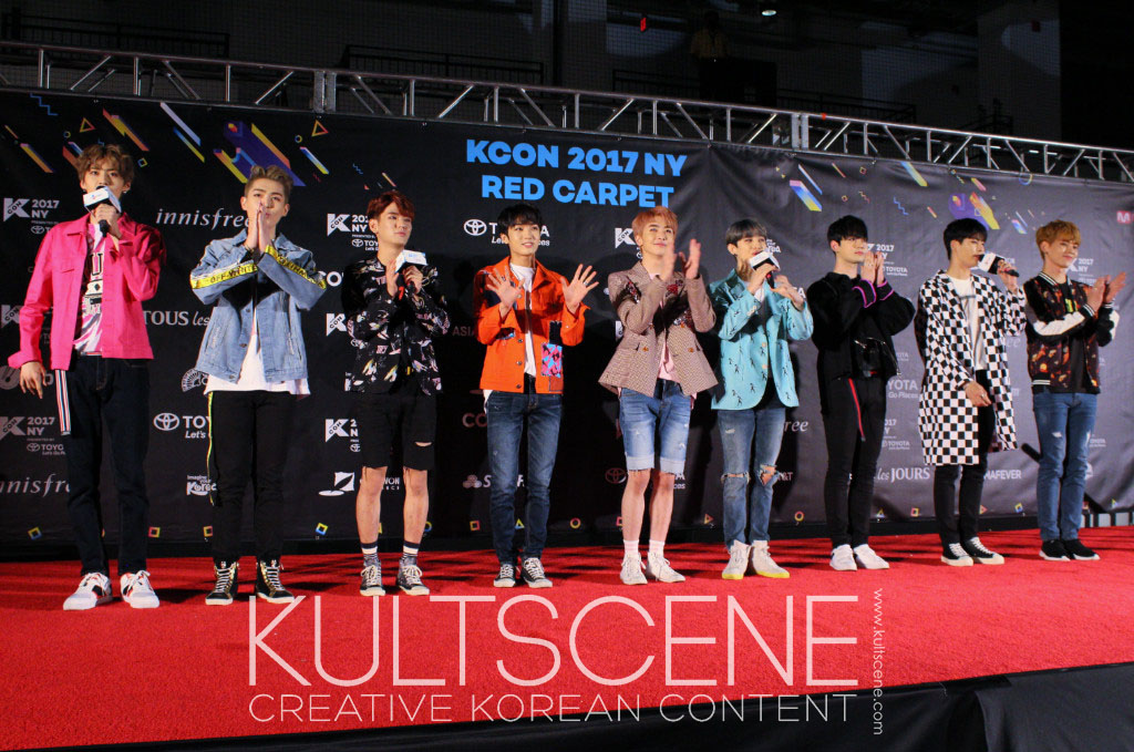 up10tion uptention kcon new york 2017 17 ny kpop k-pop nyc