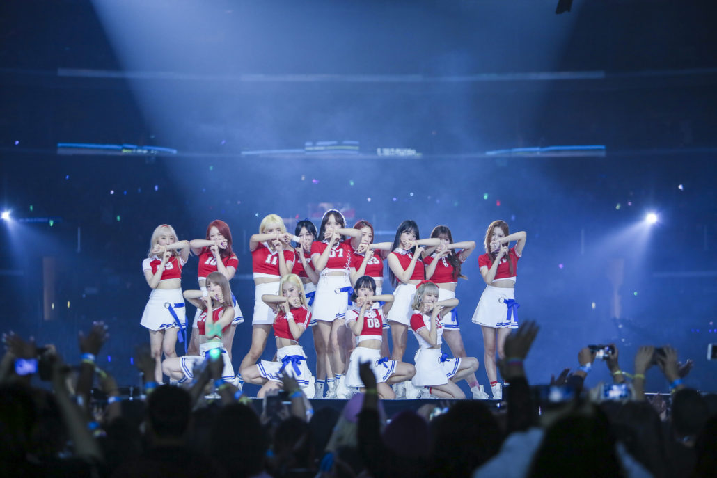 cosmic girls kcon 2017 los angeles la 17 wjsn